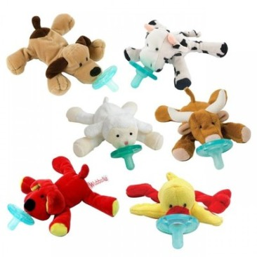 wubbanub-infant-pacifier-6-pack-barnyard-buddies-f72